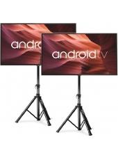 """Divu 55""""(140cm) LED TV ar statīviem noma**"""